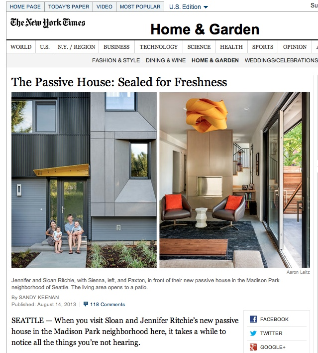 if you havent had the time to read the article yourself find it - New York Times Home And Garden